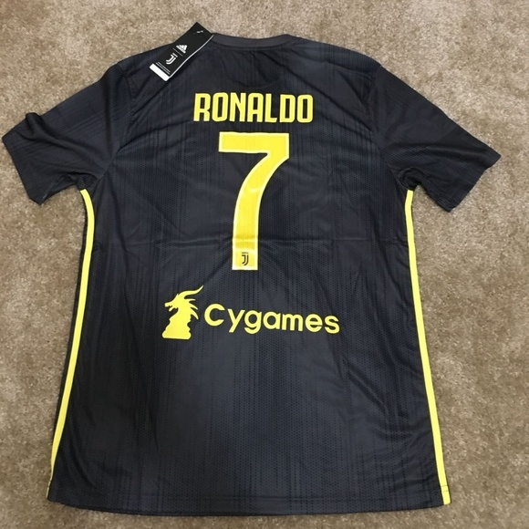 best cheap b17ab 7ae20 Juventus Third away 18/19 RONALDO#7 NWT